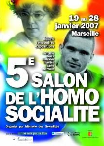 5è Salon Homosocialité 2007 - Affiche