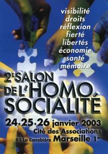 Salon de l'homosocialité 2003