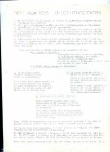 Meeting salle Mazenod – Juin 1980