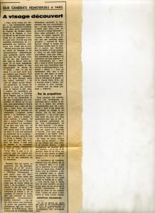 Homos candidats aux municipales Paris 1978