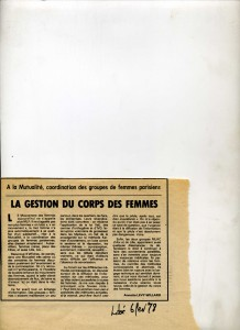 Femmes candidates aux législatives 1978