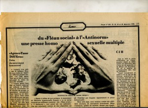 Rouge : presse homo dec. 78