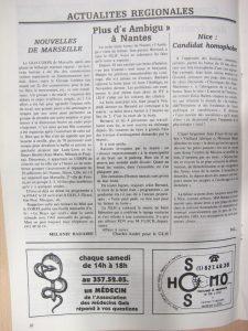 Homophonies n°18 mai 1982 : GLH de Marseille
