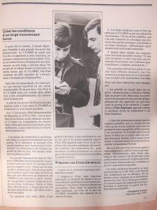 Homophonies n° 20 : Etats généraux de l'homosexualité mars 1982
