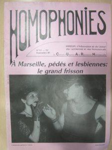 Homophonies : UEH 81