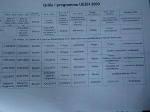 Ueeh 2000 grille programme