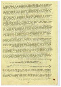 Bulletin GLH info n°1 printemps 1977 : Aix en Provence