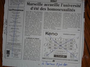 UEEH 2001  : revue de presse (extraits)