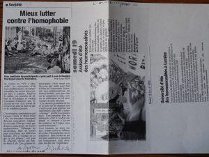 UEEH 2003 : revue de presse (extraits)