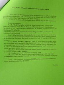 UEEH 2004 : le bilan (extraits)