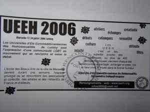 UEEH 2006 : préparation (extraits)