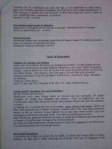 UEEH 2007 : activités thématiques (extraits)