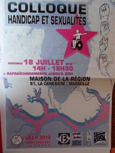 UEEH 2012 : handicap et homosexualité
