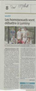 La Provence  18 juillet 2009