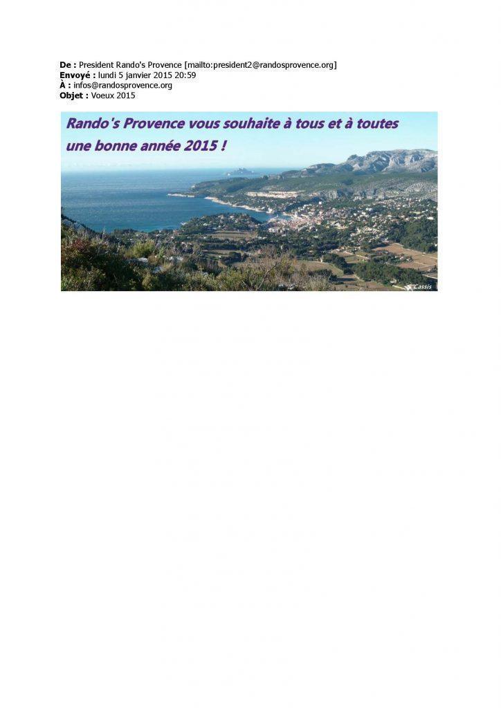 Rando's Provence 2013-2015