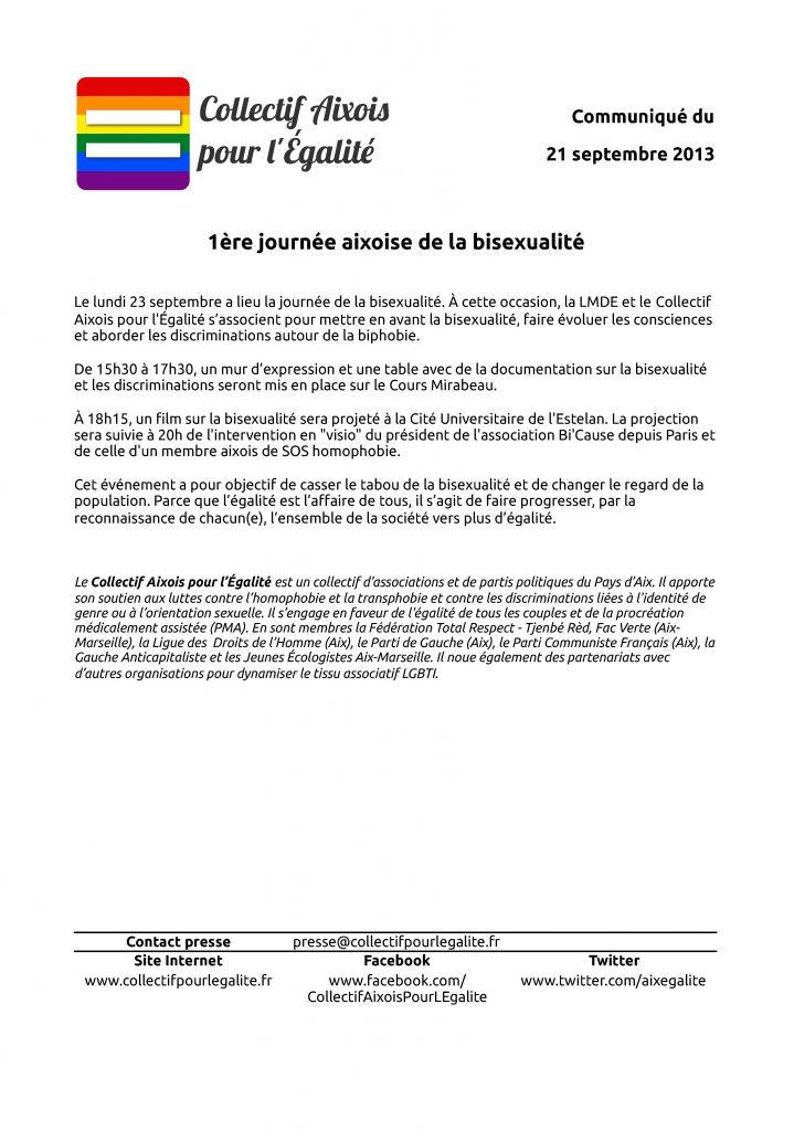 Collectif aixois pour l'égalité 2012 – 2014