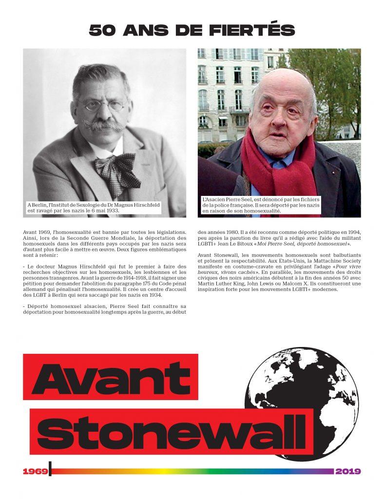 50 ans de fiertés depuis Stonewall : une exposition
